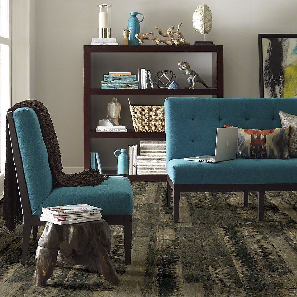 Shaw Floors Versalock Laminate Comment Charcoal Gray 05012_SML04