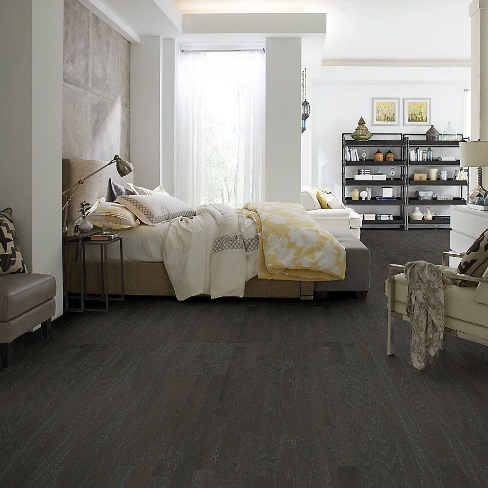 Shaw Floors Duras Hardwood All In II 3.25 Charcoal 05013_HW581