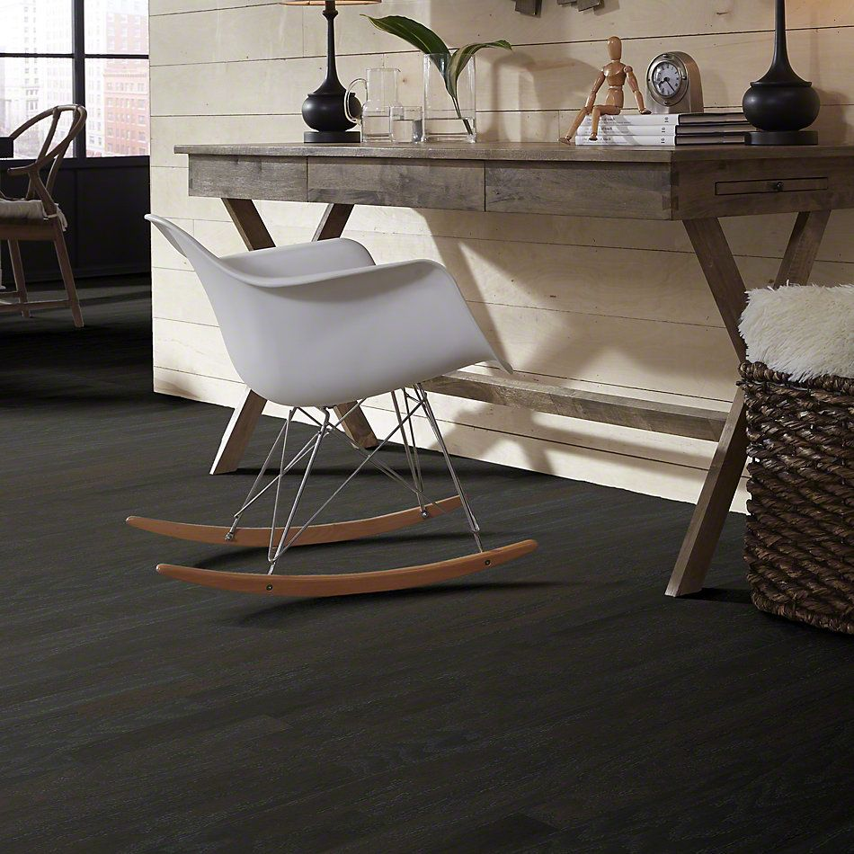 Shaw Floors Shaw Hardwoods Albright Oak 3.25 Charcoal 05013_SW581