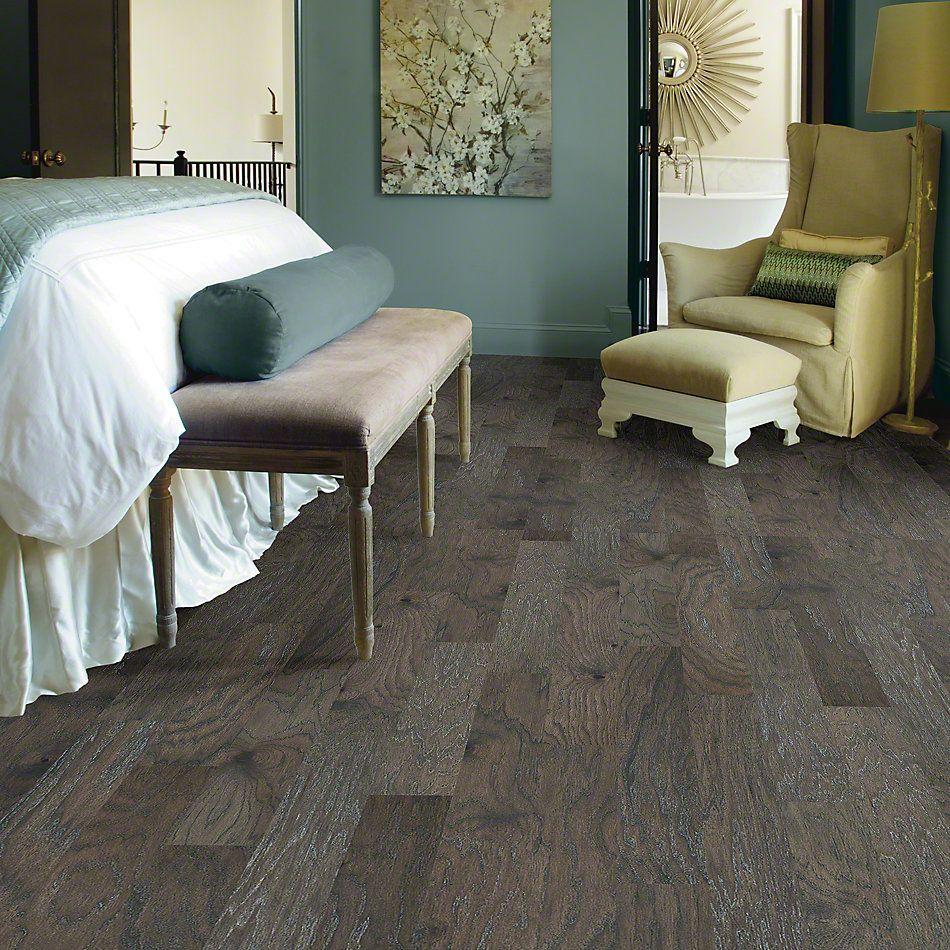 Shaw Floors Shaw Hardwoods Fremont Hickory Slate 05039_SW592