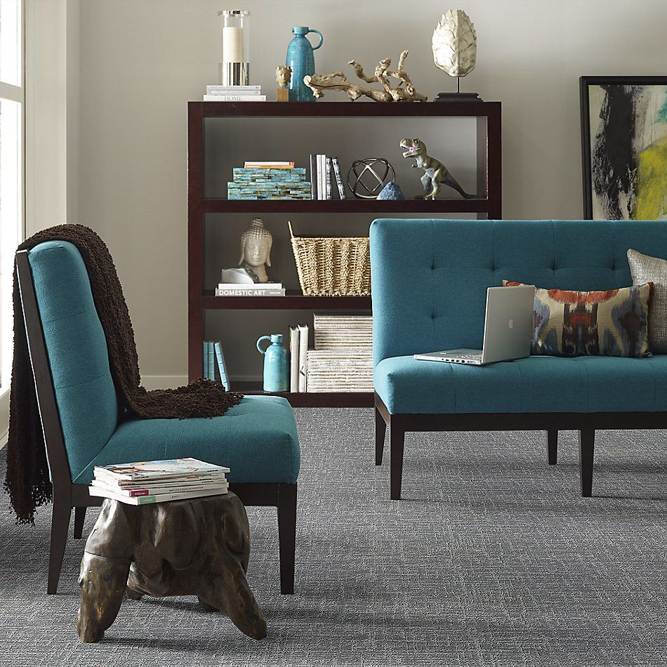 Shaw Floors Value Collections Creating Memories Blue Net Cool Breeze 0525P_EA829