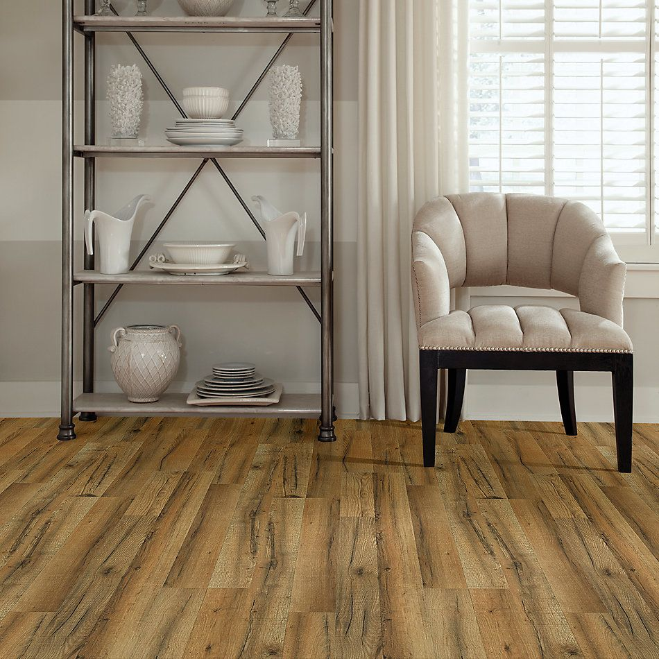 Shaw Floors Home Fn Gold Laminate Living View Orchard Oak 06003_HL110