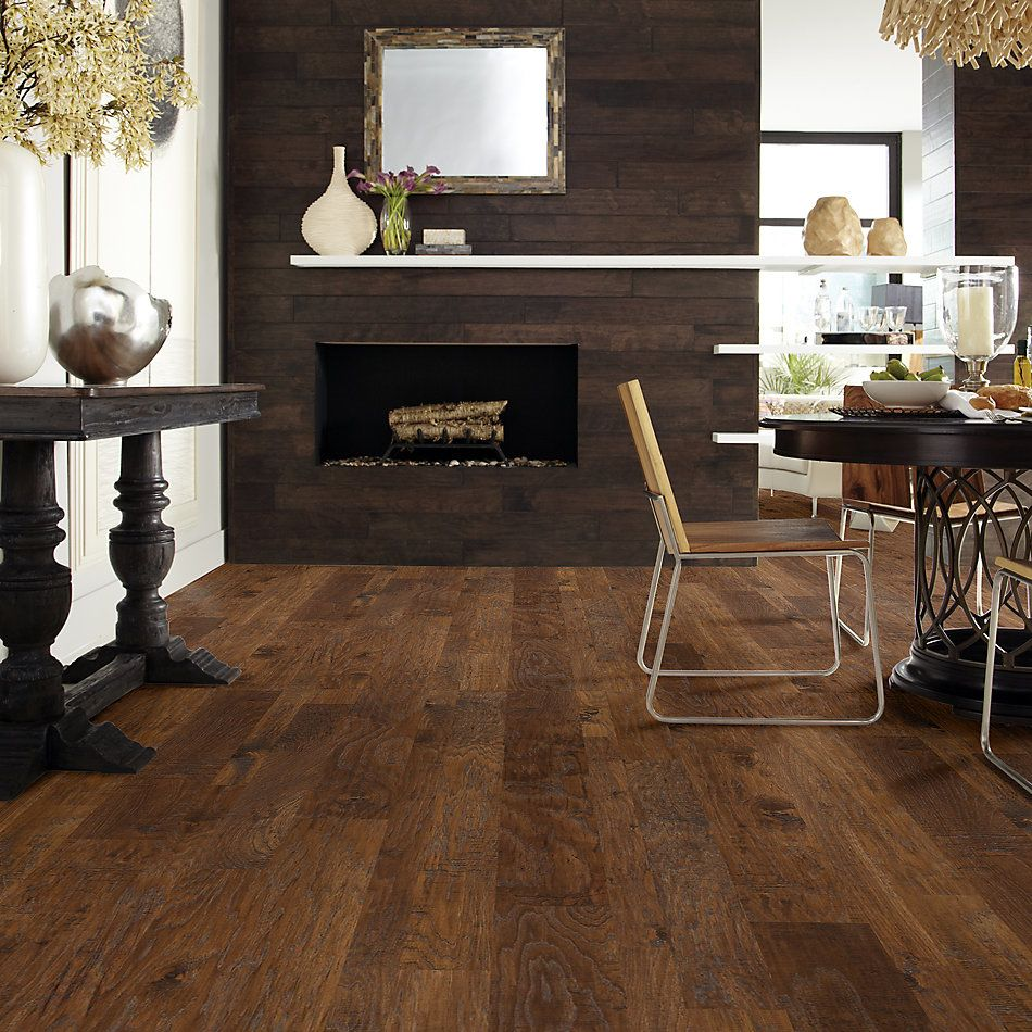 Shaw Floors Home Fn Gold Hardwood Leesburg 2 – Mixed Ginger 07002_HW619