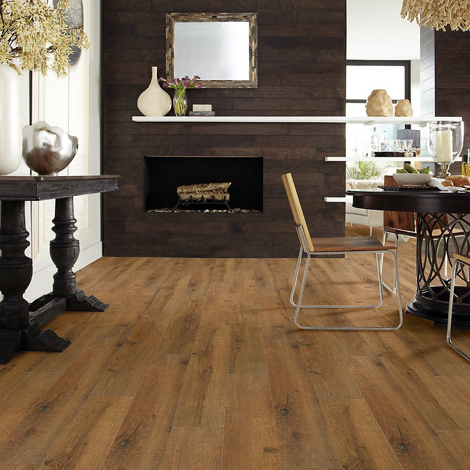 Shaw Floors Versalock Laminate Cascade Classics Spice Brown 07010_SL102