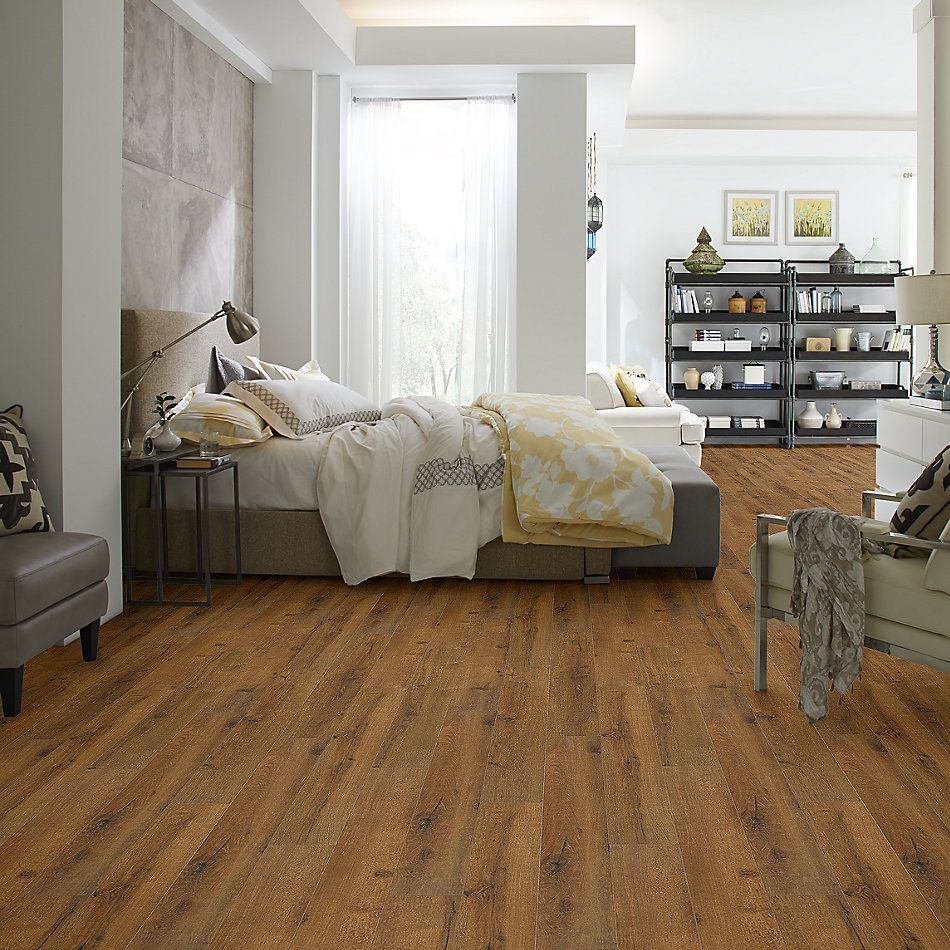 Shaw Floors Versalock Laminate Bay Area Classics Spice Brown 07010_SL109