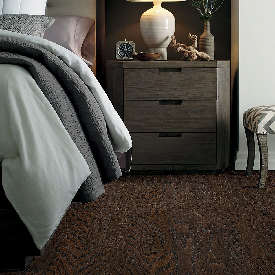 Shaw Floors Duras Hardwood All In II 3.25 Chocolate 07011_HW581