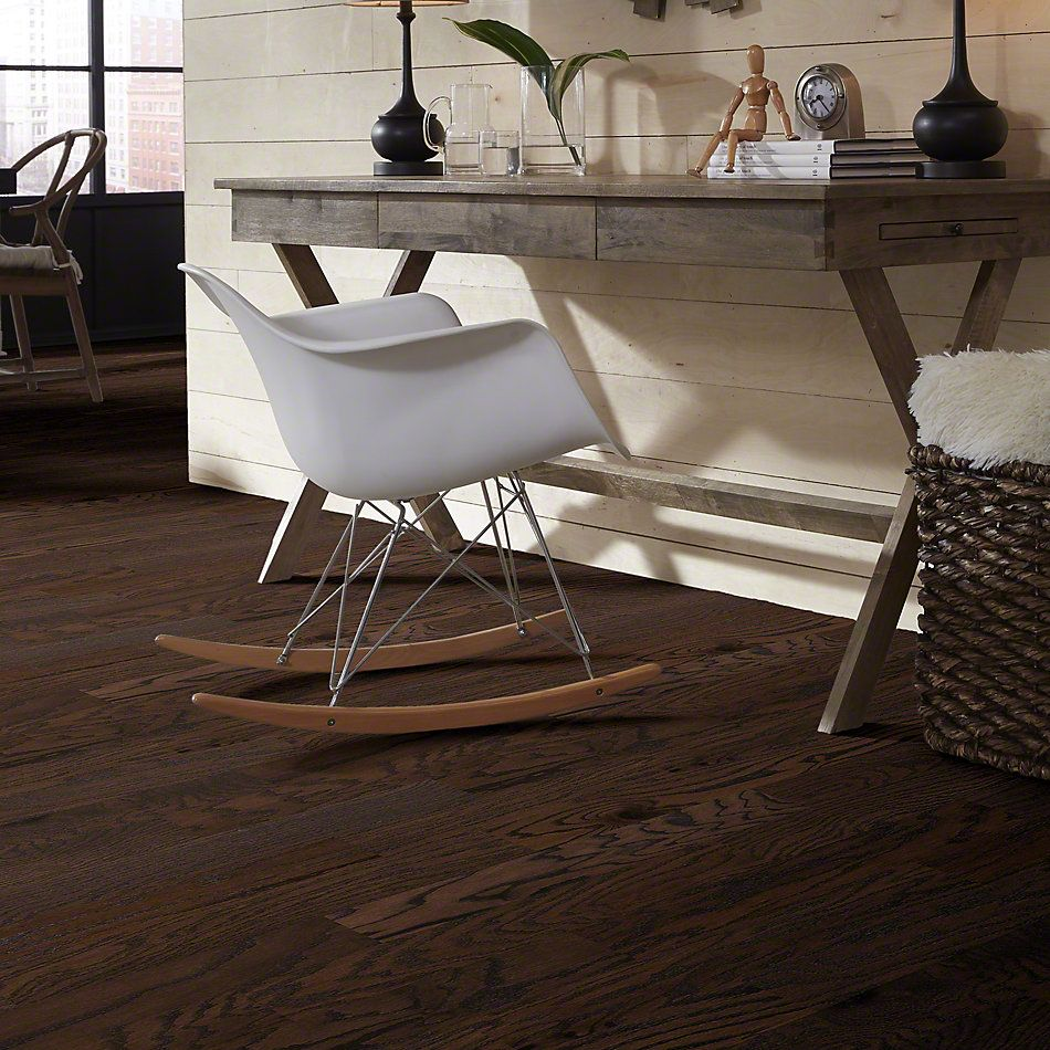 Shaw Floors Duras Hardwood All In II 5 Chocolate 07011_HW582