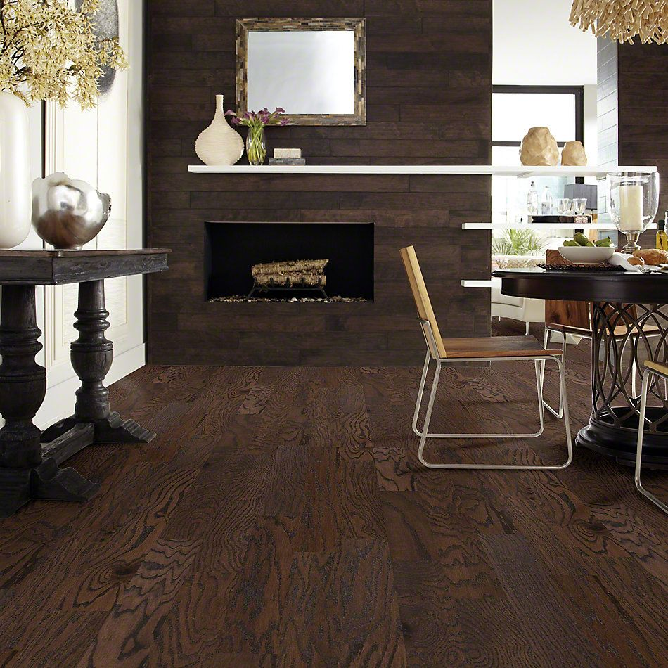 Shaw Floors Shaw Hardwoods Albright Oak 5 Chocolate 07011_SW582
