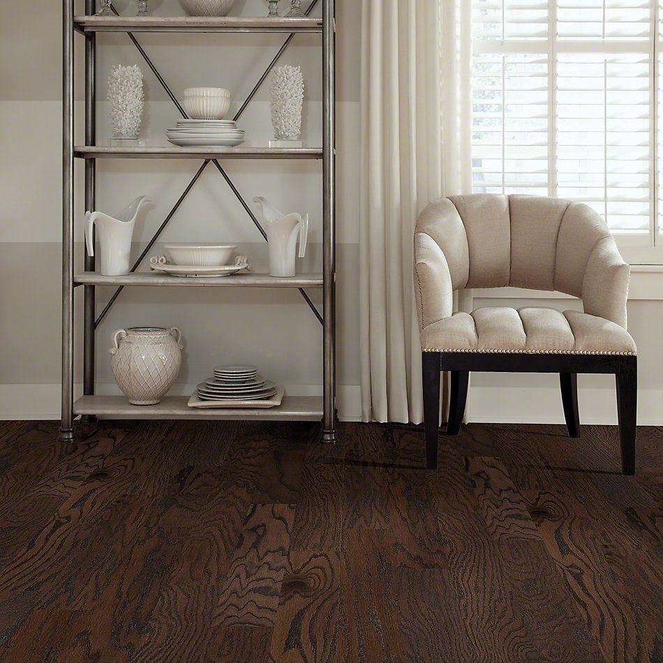 Shaw Floors Shaw Hardwoods Albright Oak 5 Chocolate 07011_SW582
