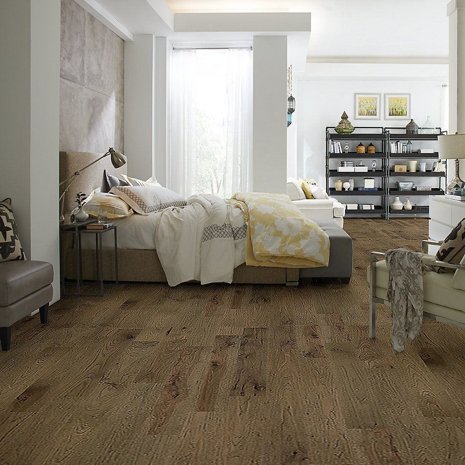 Shaw Floors Home Fn Gold Hardwood Kingston Hickory Romanesque 07018_HW486