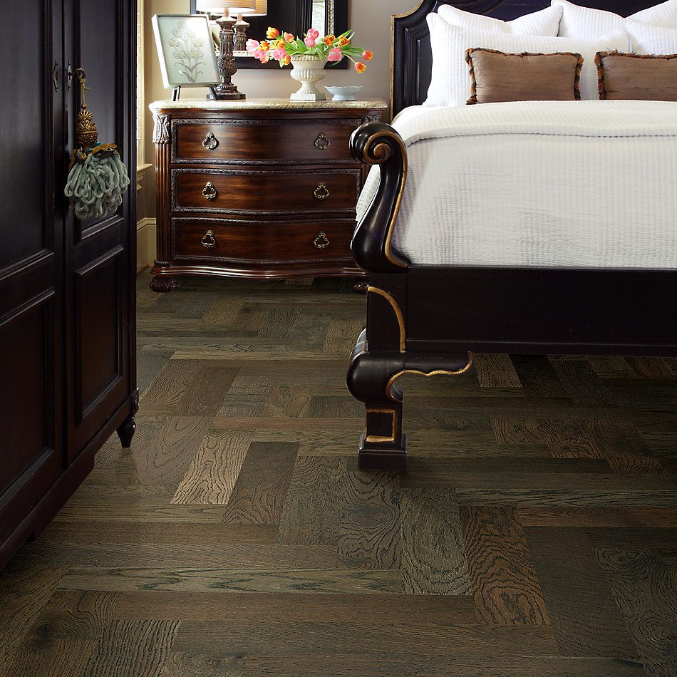 Shaw Floors Home Fn Gold Hardwood Park Avenue Herringbone Morgan 07024_HW663