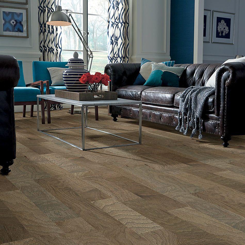 Shaw Floors Home Fn Gold Hardwood Campbell Creek Smooth Chestnut 07035_HW669