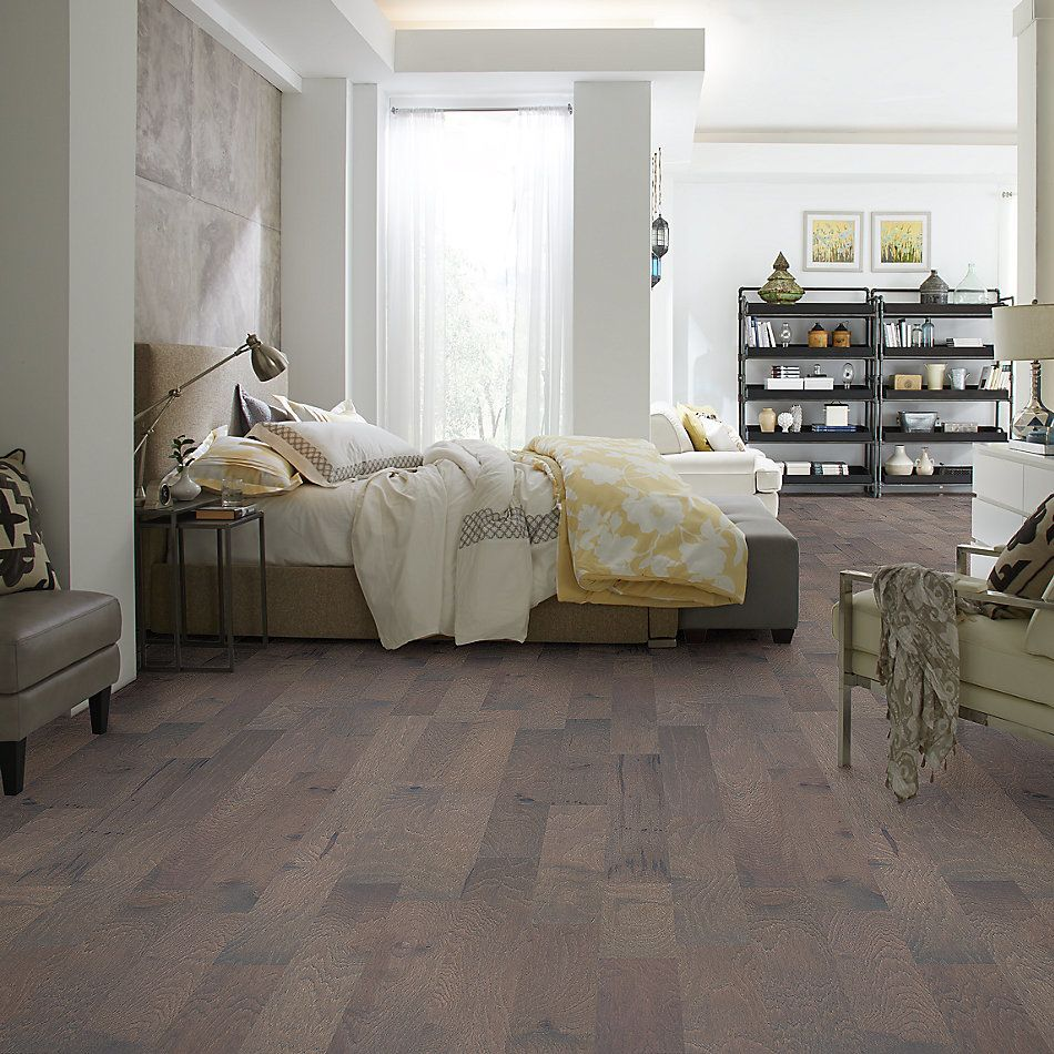 Shaw Floors Home Fn Gold Hardwood Piedmont Hickory Metro Brown 07065_HW710