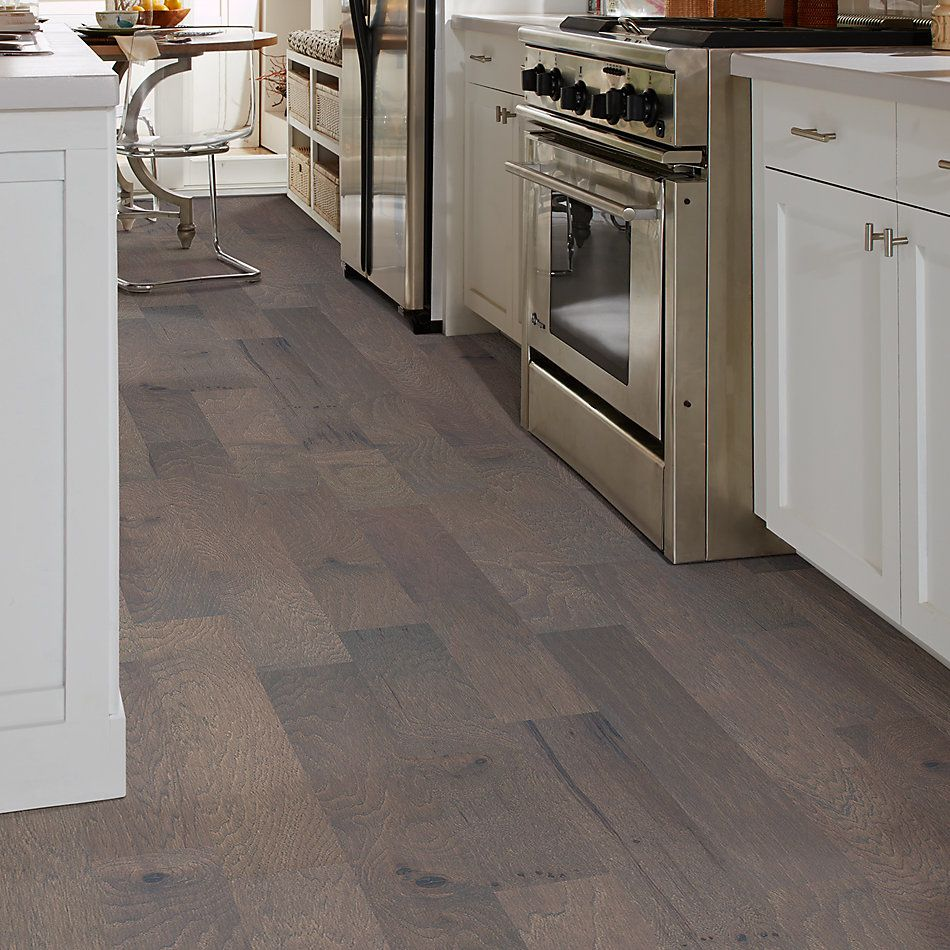Shaw Floors Shaw Hardwoods Alpine Hickory Metro Brown 07065_SW710