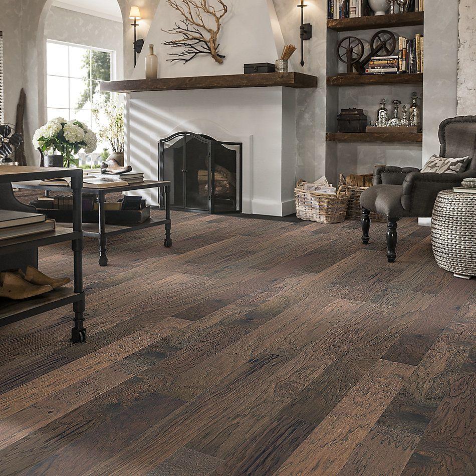 Shaw Floors Home Fn Gold Hardwood Flat Iron 5 Nomadic 07070_HW711