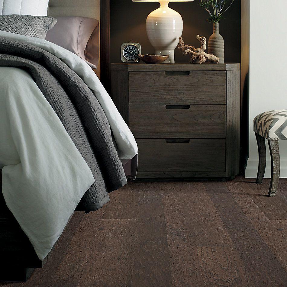 Shaw Floors Home Fn Gold Hardwood Wayward Hickory Mixed Width Pumice 07073_HW718