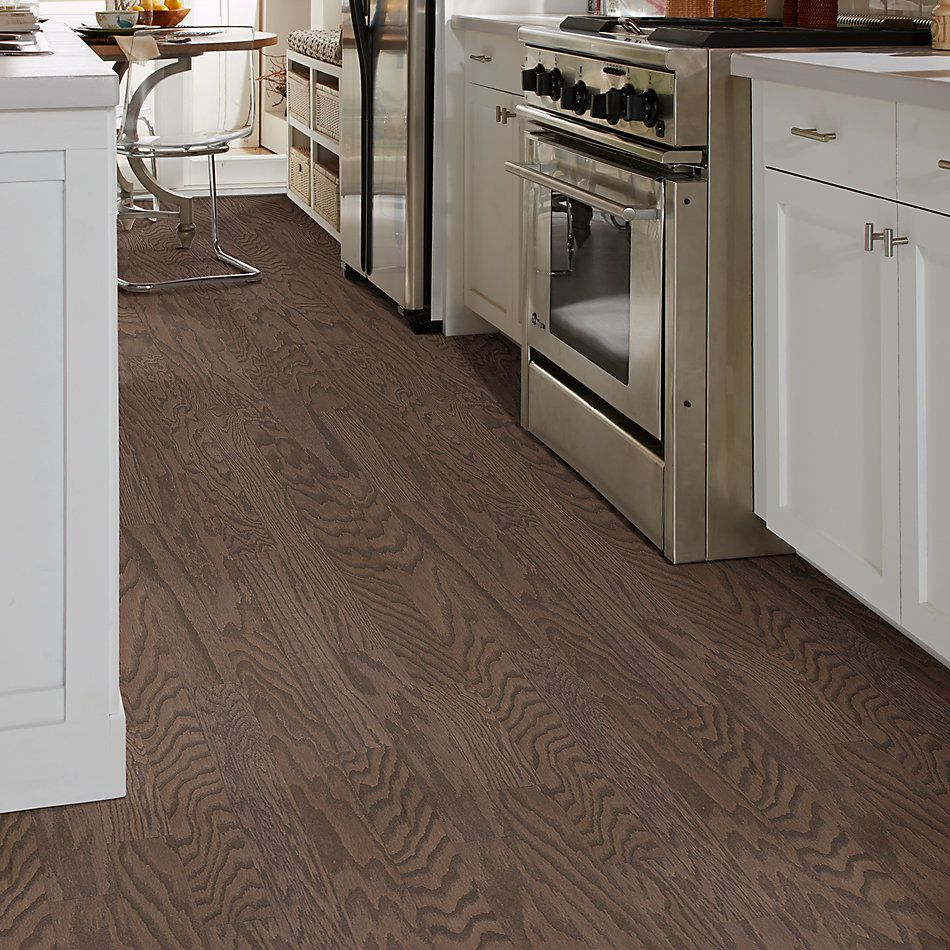 Shaw Floors Shaw Hardwoods Albright Oak 3.25 Kona Lg 07091_SW581