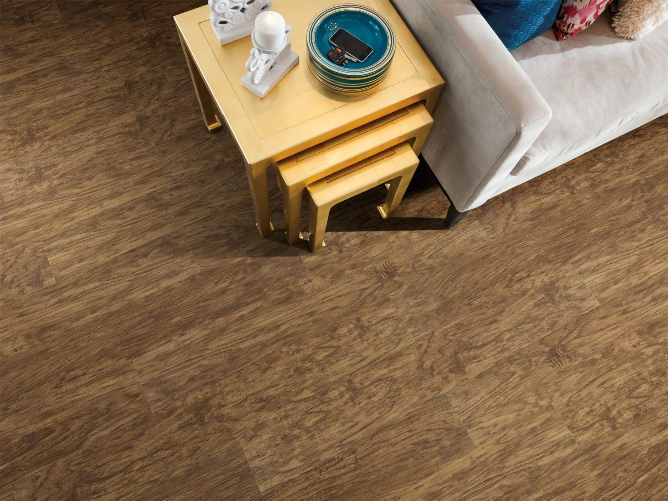 Shaw Floors Vinyl Residential Endura 512c Plus Sienna Oak 00452_0736V