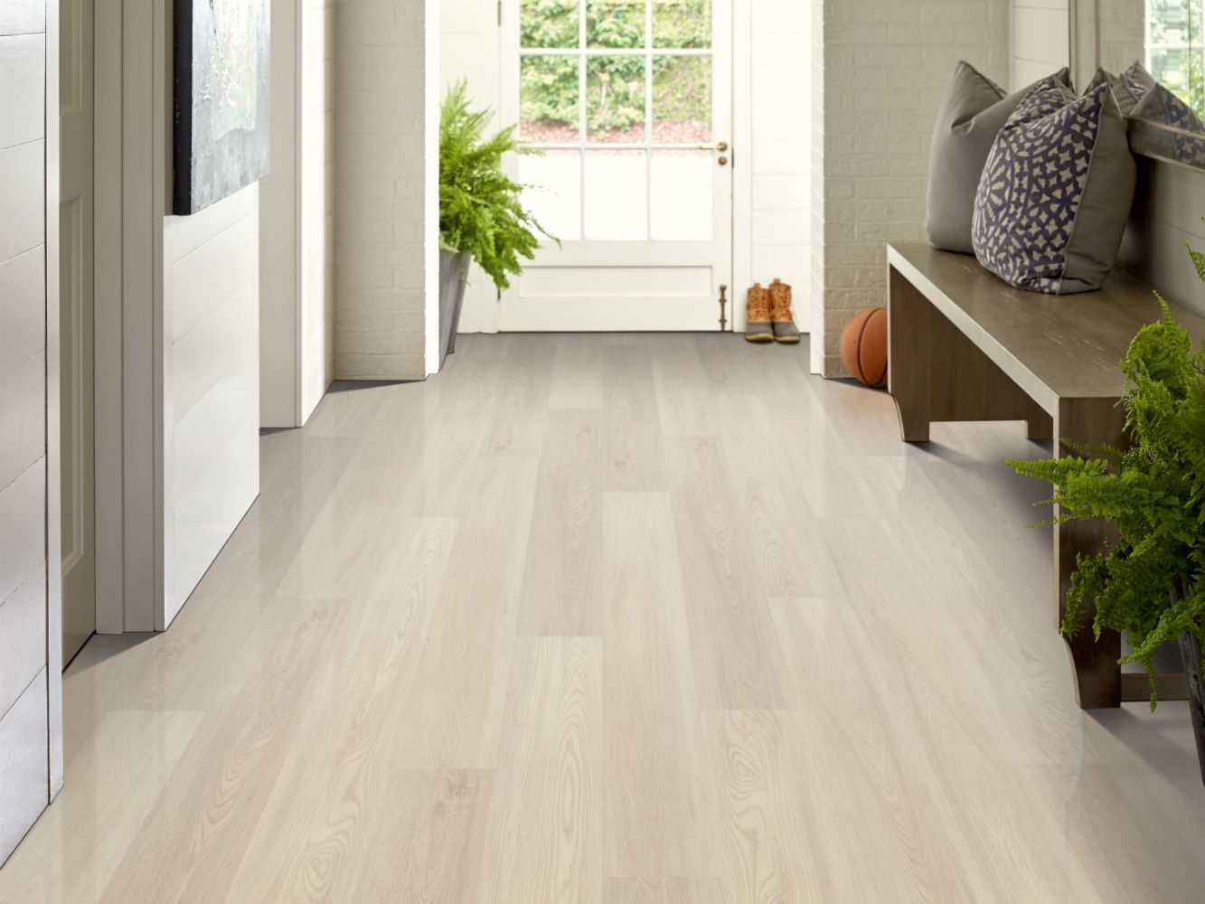 Shaw Floors Vinyl Residential Endura 512c Plus Silver Dollar 01055_0736V