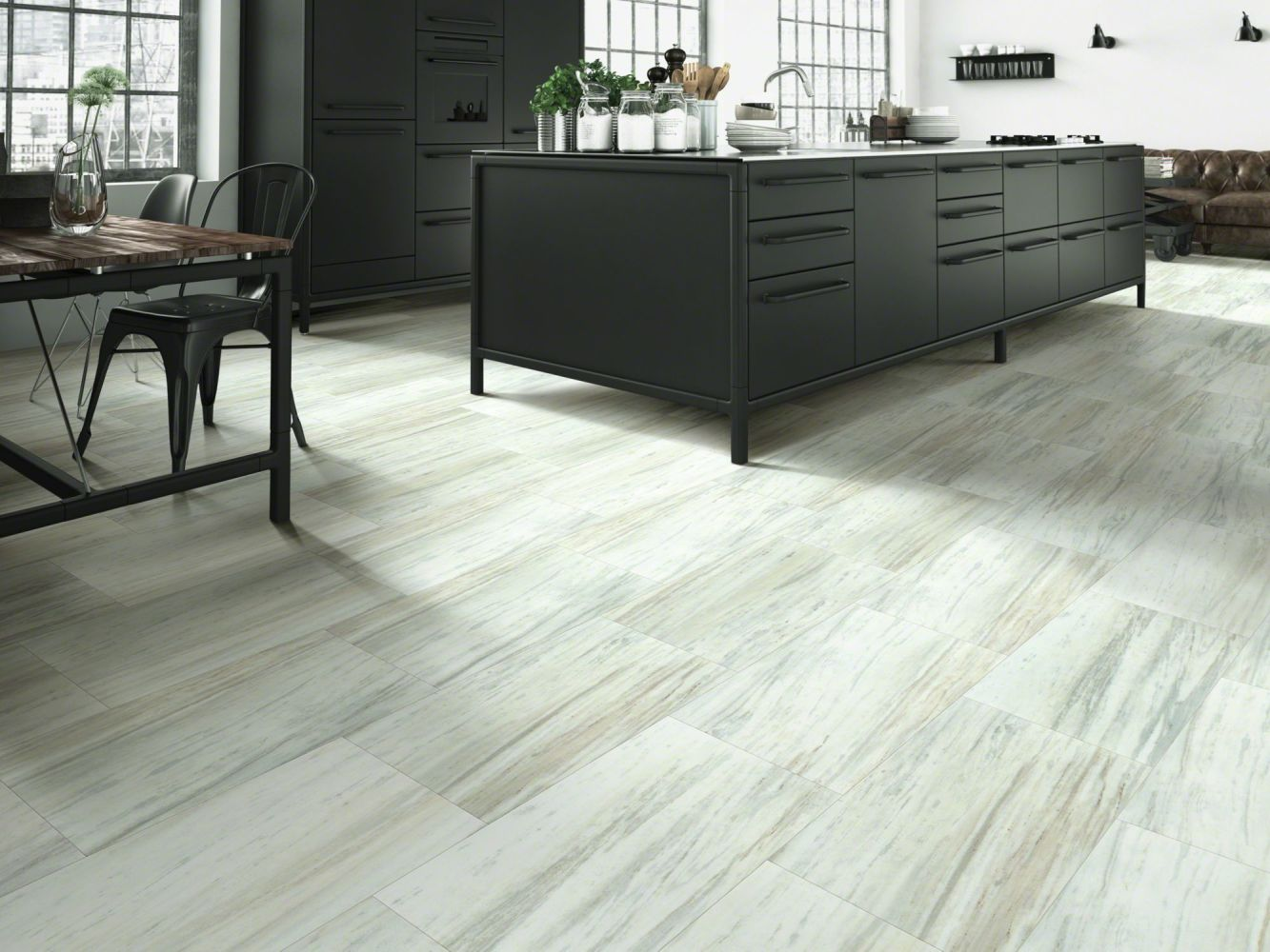 Shaw Floors Resilient Residential Set In Stone 720c Plus Glacier 00147_0834V