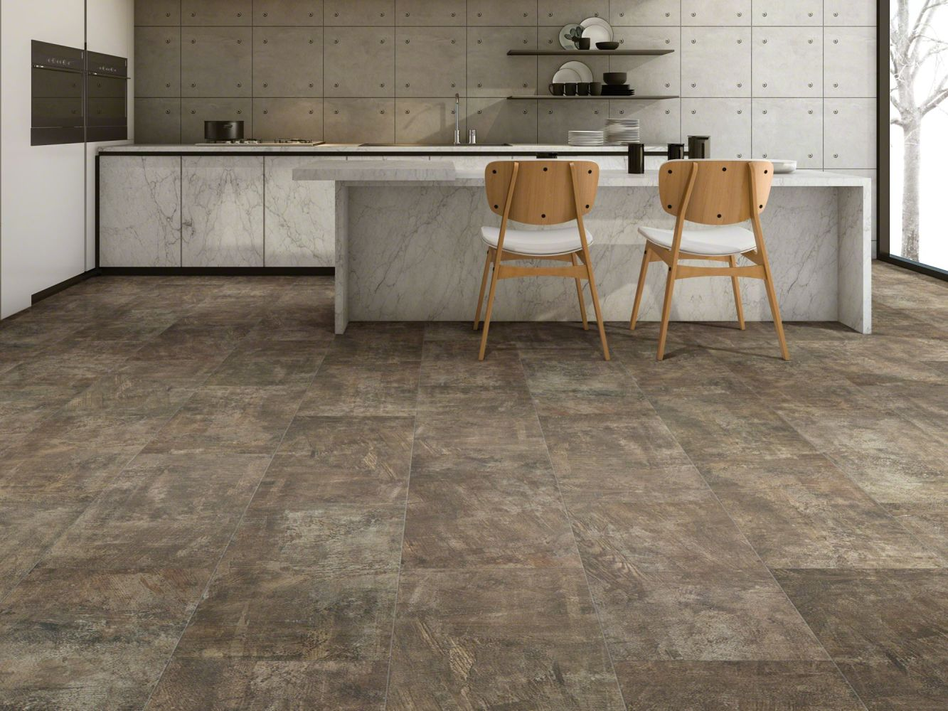 Shaw Floors Resilient Residential Mineral Mix 720c Plus Canyon 00788_0835V
