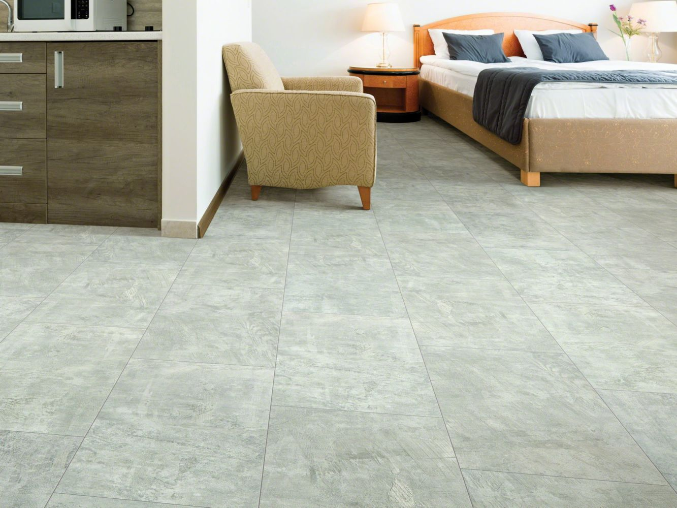 Shaw Floors Vinyl Residential Mineral Mix 720c Plus Graphite 05001_0835V