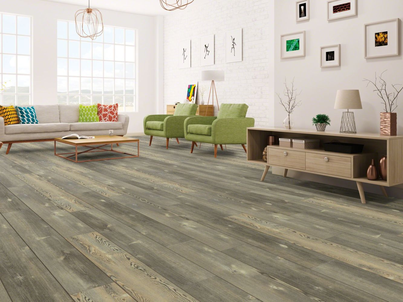 Shaw Floors Vinyl Residential Blue Ridge Pine 720c HD Plus Pitch Pine 00167_0864V