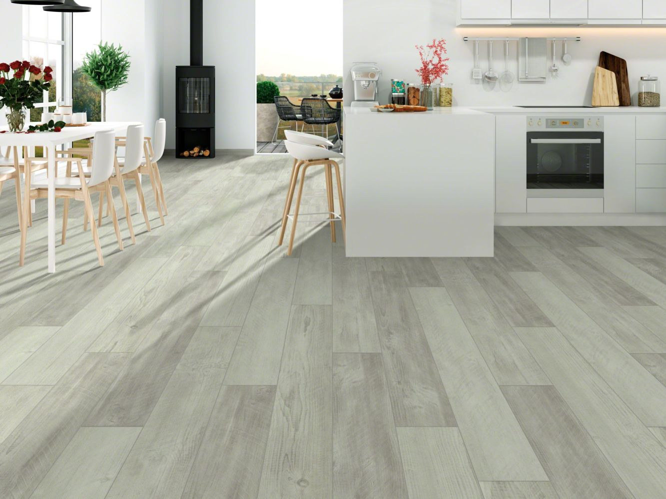 Shaw Floors Resilient Residential Cross-sawn Pine 720c Plus Distressed Pine 00164_0865V