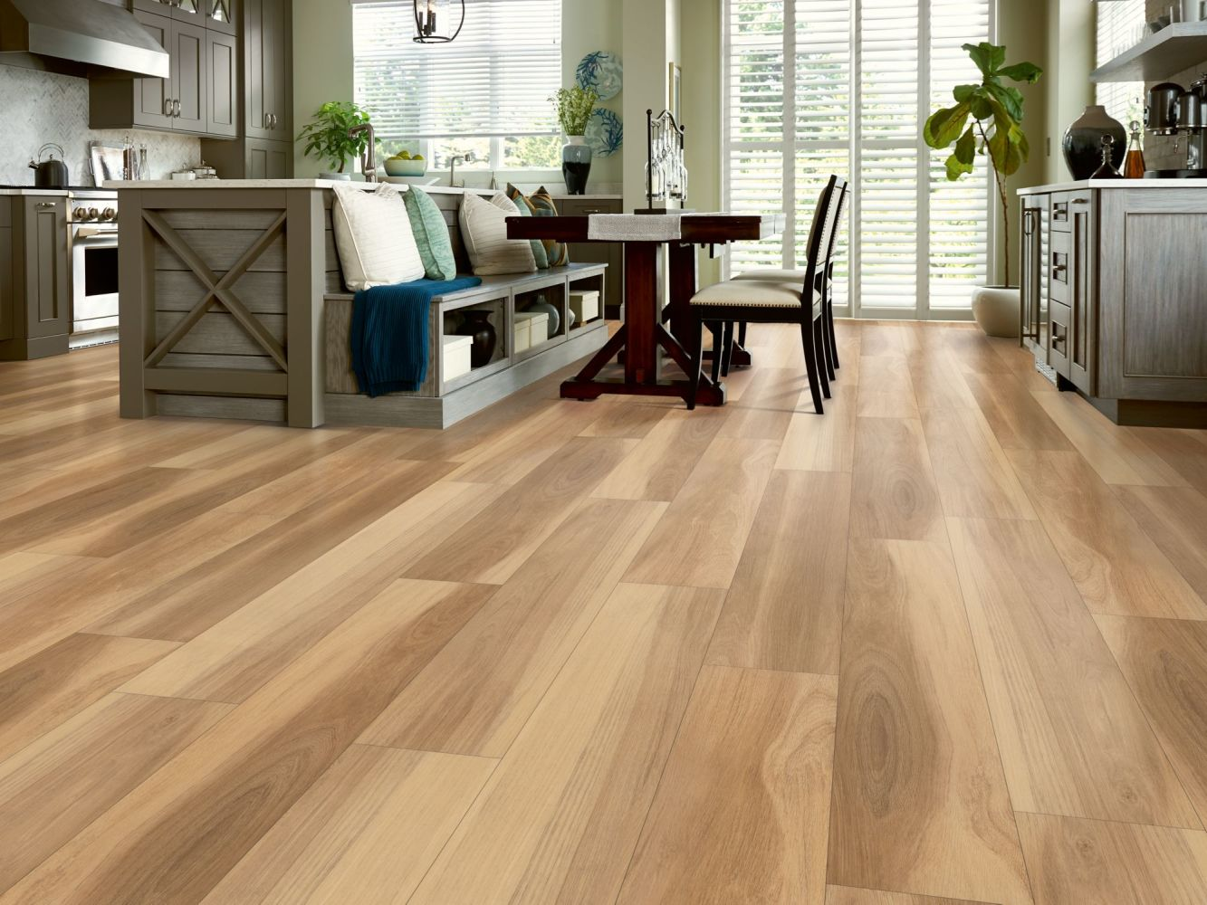 Shaw Floors Resilient Residential Cathedral Oak 720c Plus Khaki Oak 00699_0866V