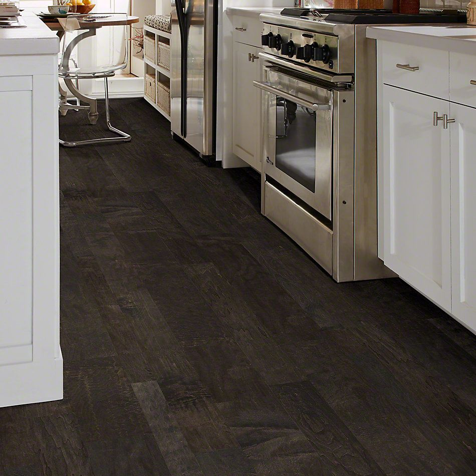 Shaw Floors SFA Fairbanks Maple Mixed Width Midnight 09003_SA461
