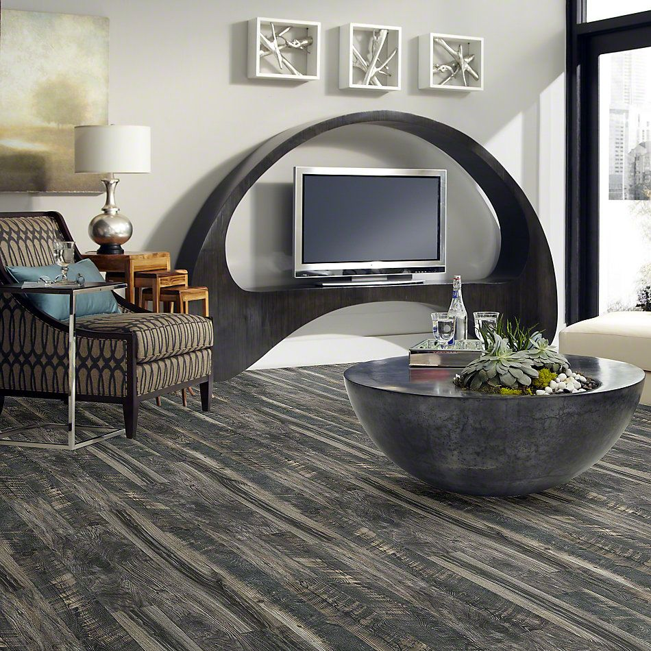 Shaw Floors Versalock Laminate Carriage House Blended Night 09006_SA595