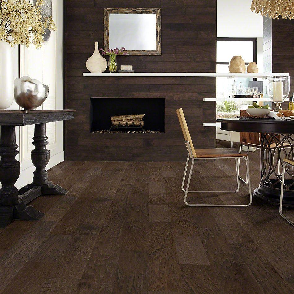 Shaw Floors Shaw Hardwoods Riverstone Espresso 09012_SW593