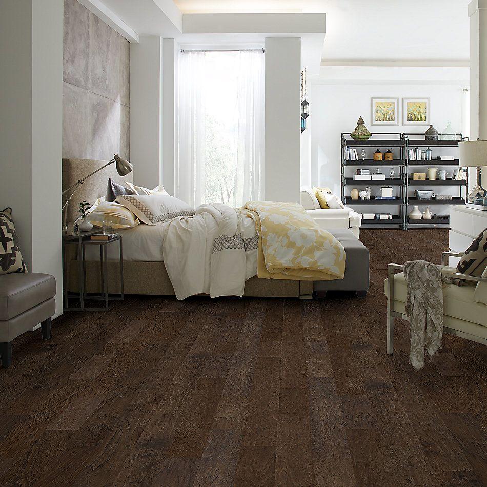 Shaw Floors Nfa Premier Gallery Hardwood Woodlands Espresso 09012_VH047