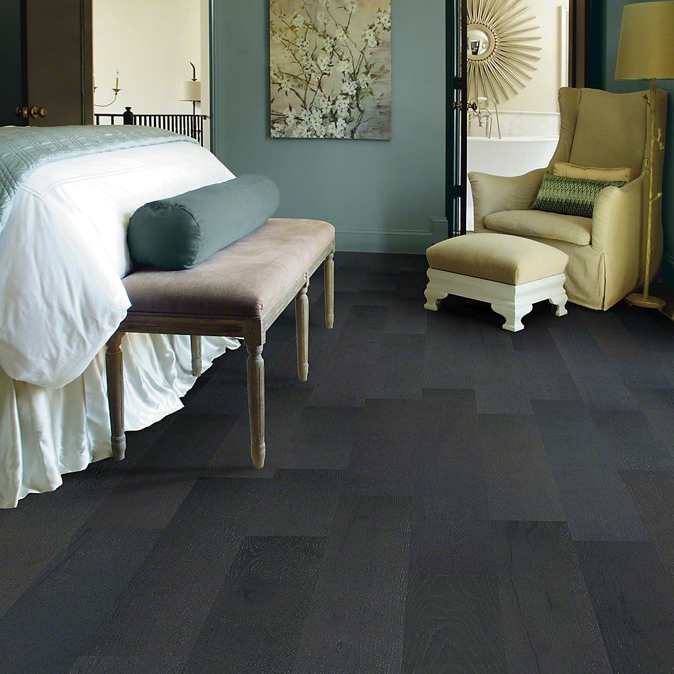 Shaw Floors Shaw Hardwoods Couture Oak Noir 09033_SW689