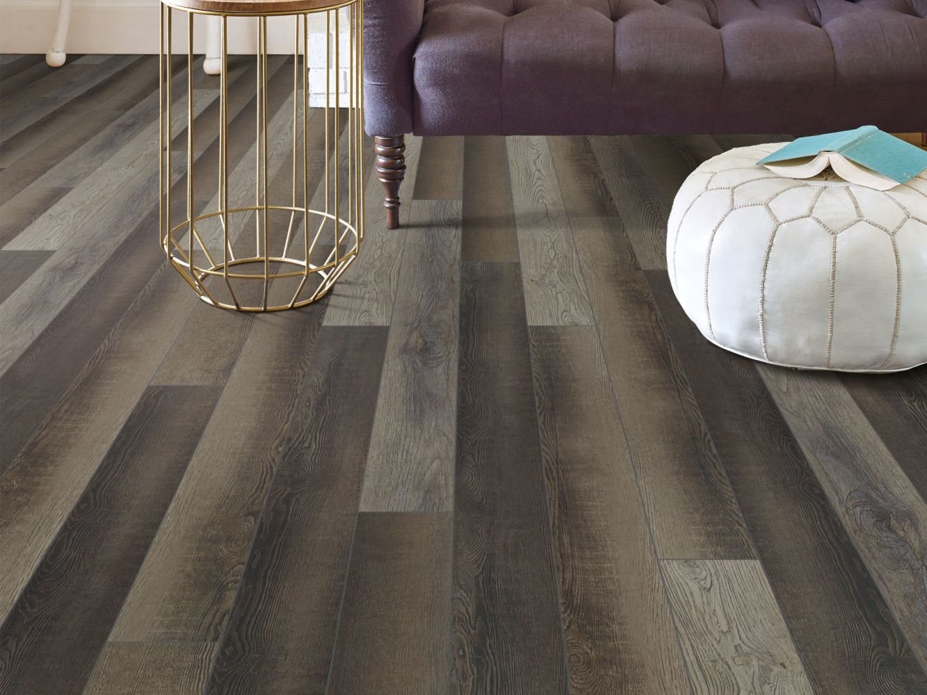 Shaw Floors Resilient Residential Paragon 5″ Plus Blackfill Oak 00909_1019V