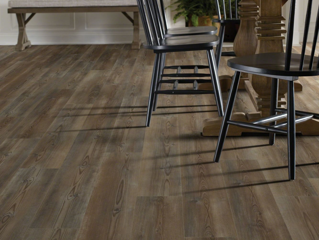 Shaw Floors Resilient Residential Paragon 7″ Plus Ripped Pine 07047_1020V