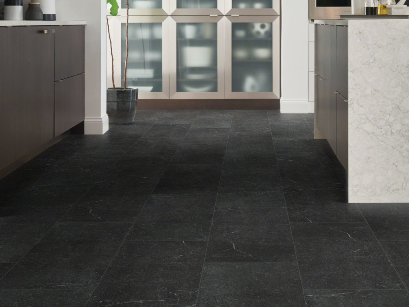 Shaw Floors Resilient Residential Paragon Tile Plus Smoke 00914_1022V