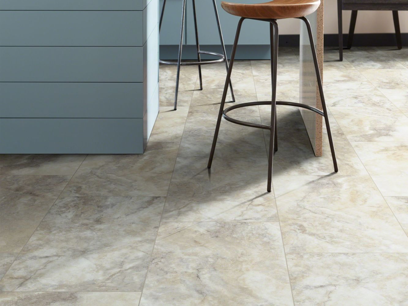 Shaw Floors Resilient Residential Paragon Tile Plus Pebble 01009_1022V
