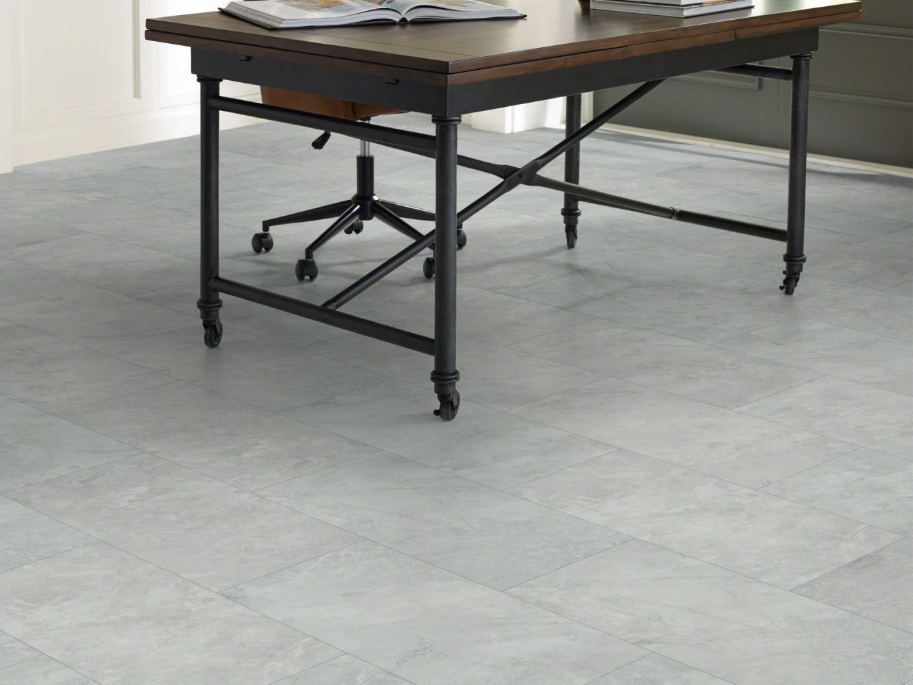 Shaw Floors Resilient Residential Paragon Tile Plus Pearl 05064_1022V