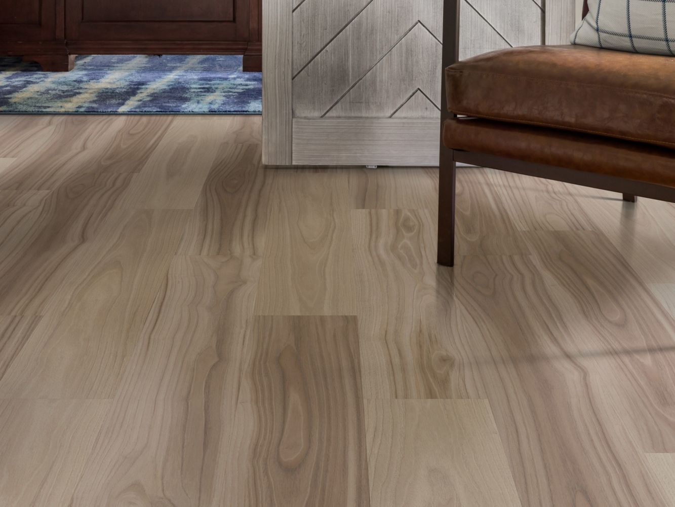 Shaw Floors Resilient Residential Pantheon Hd+ Natural Bevel Bluff 01099_1051V