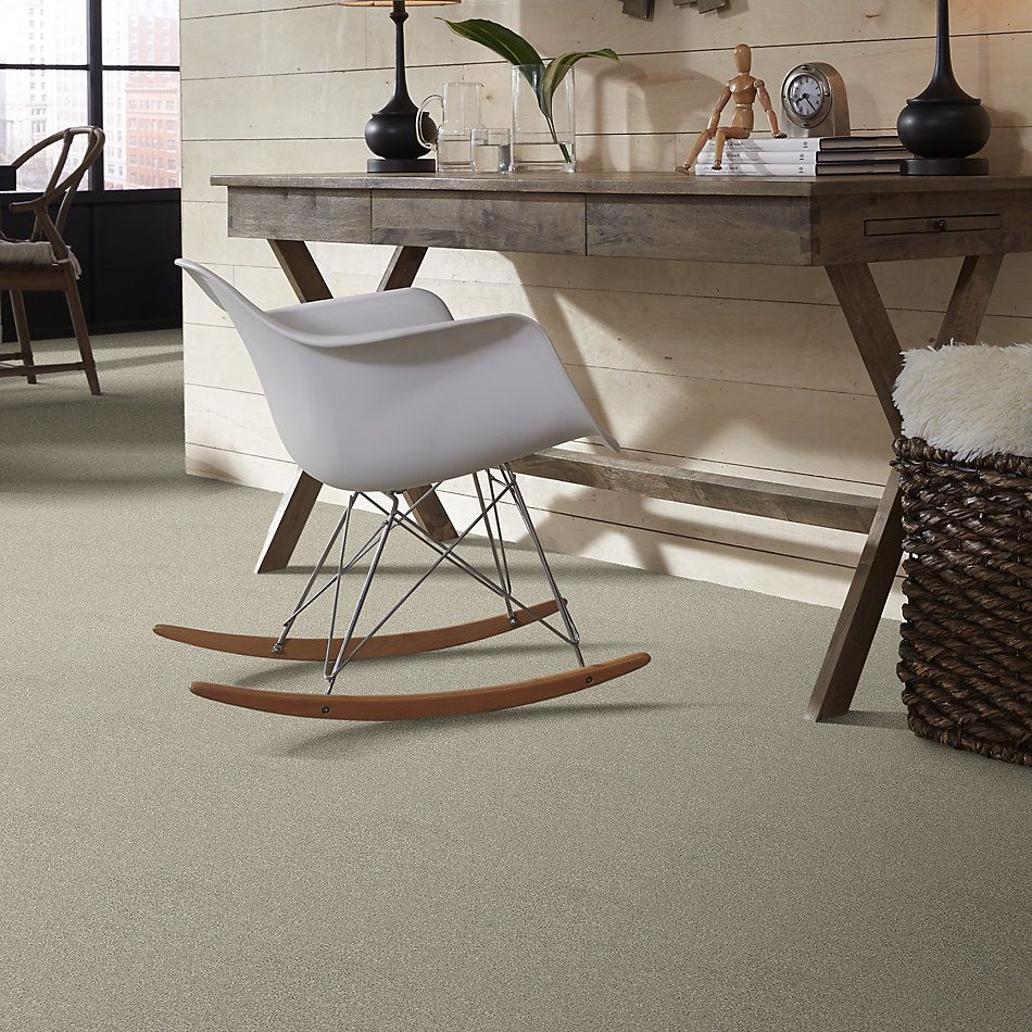Shaw Floors Value Collections Attainable Solid Net Desert Light 121T_5E094