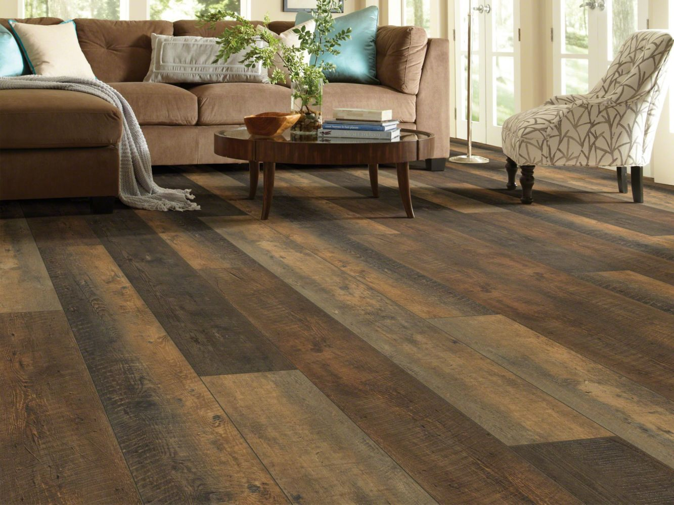 Shaw Floors Resilient Residential Titan HD Plus Autumn Barnboard 00689_2002V
