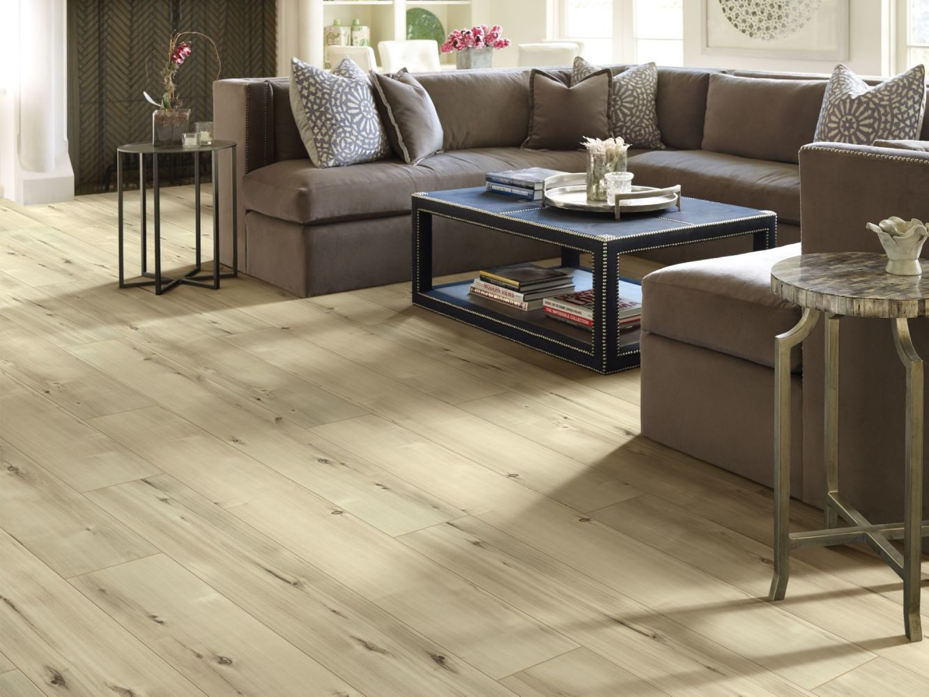 Shaw Floors Resilient Residential Allegiance+ Accent Freeport Hickory 02002_2008V