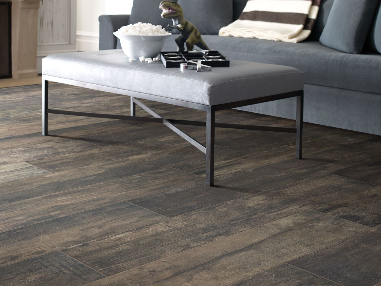 Shaw Floors Ceramic Solutions Timeworn 8 X 40 Forest 00770_201TS