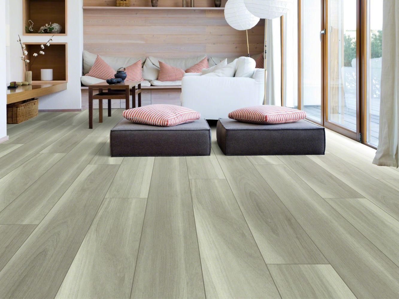 Shaw Floors Resilient Residential Intrepid HD Plus Misty Oak 05008_2024V