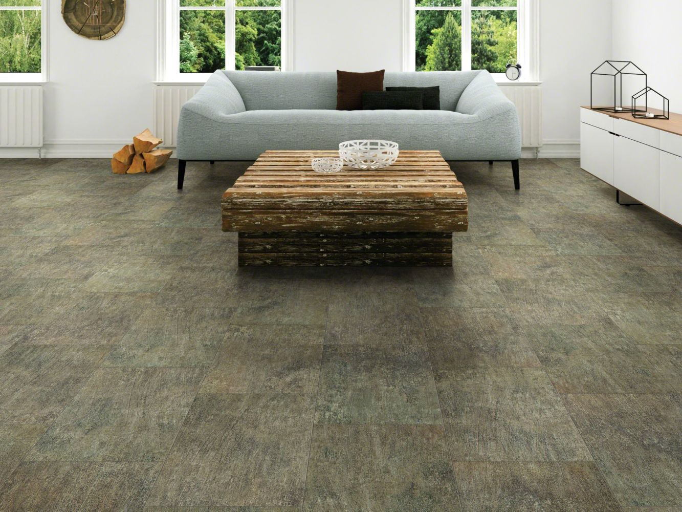 Shaw Floors Vinyl Residential Intrepid Tile Plus Alloy 00595_2026V