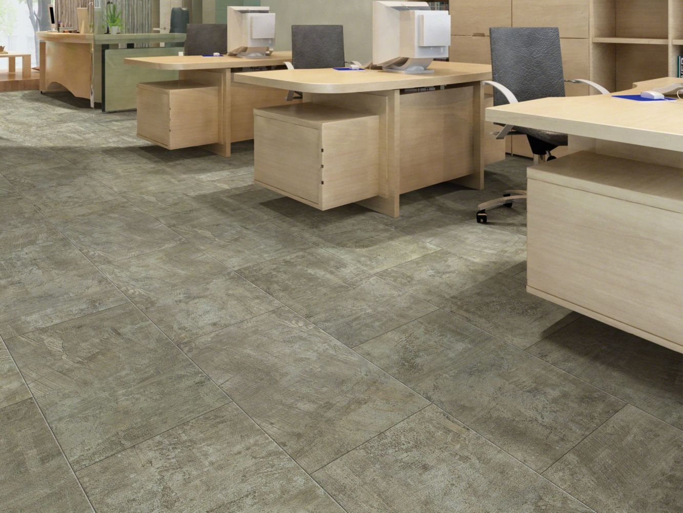 Shaw Floors Resilient Residential Intrepid Tile Plus Quarry 00596_2026V