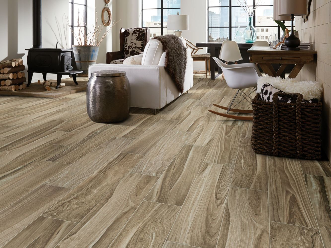 Shaw Floors Ceramic Solutions Studio 8×40 Rome 00700_202TS