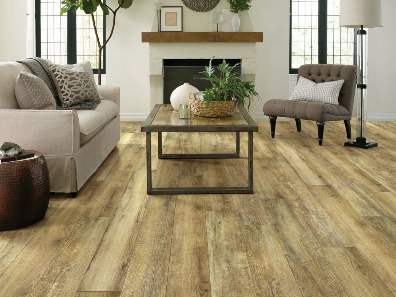 Shaw Floors Resilient Residential Paragon XL HD Plus Hazelnut Oak 07053_2033V