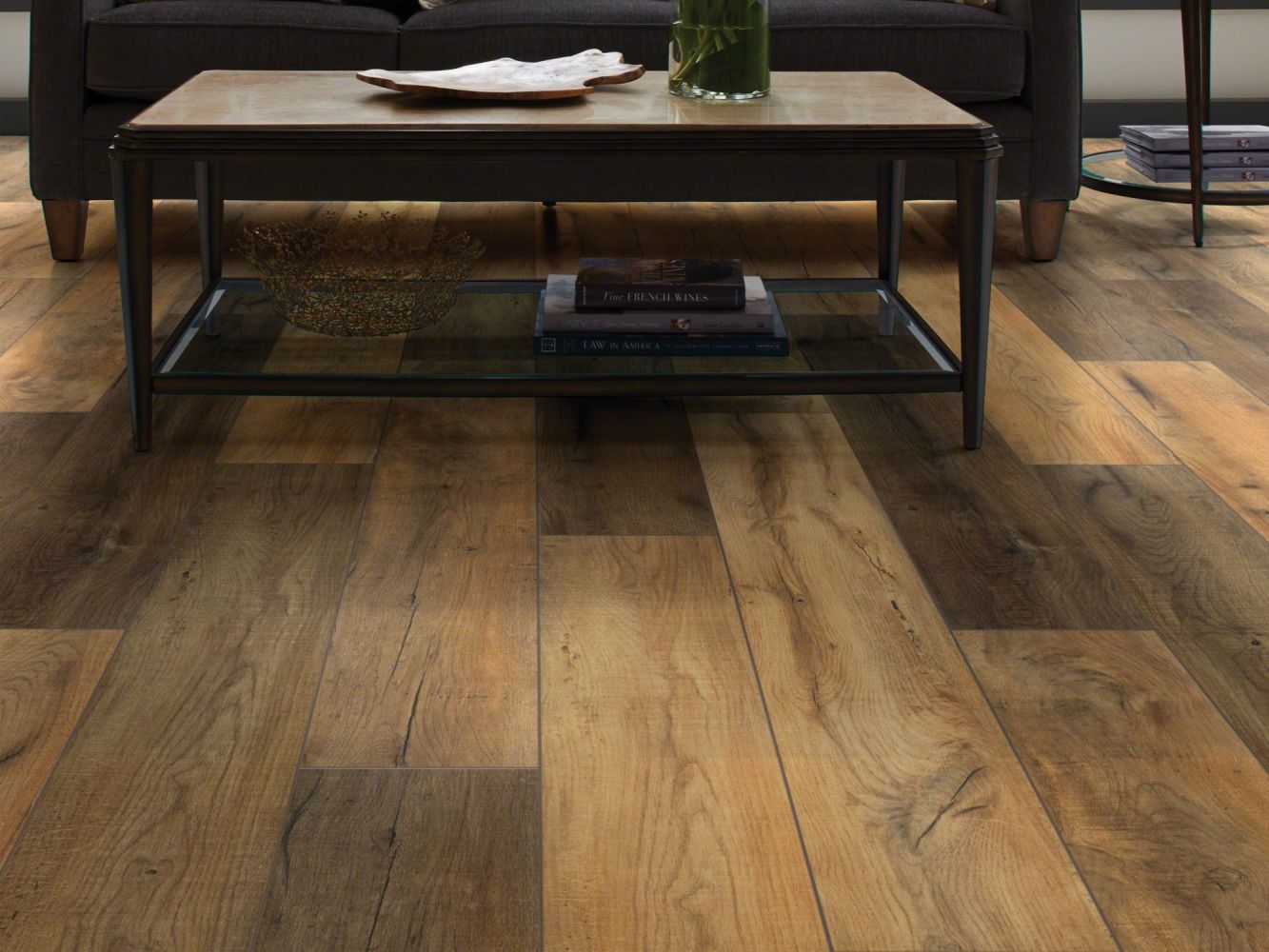 Shaw Floors Vinyl Residential Goliath Plus Sunset Oak 00692_2042V